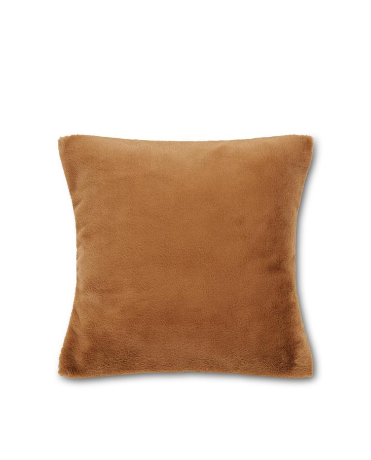 Faux Fur Recycled Polyester/Viscose Pillow Cover 50x50
