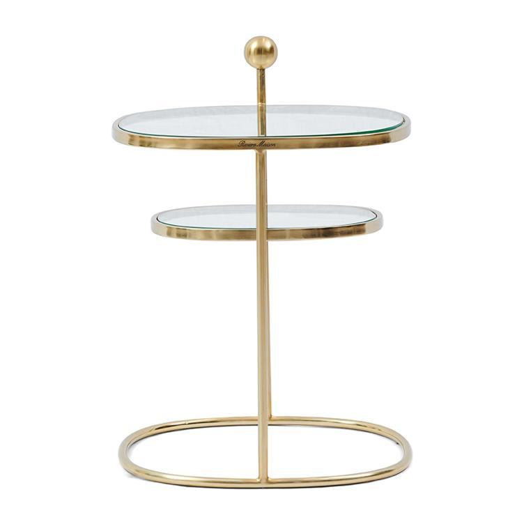 Liberty Hexagon Side Table, Gold