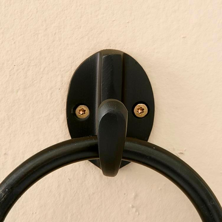 Small Kitchen Hook black S