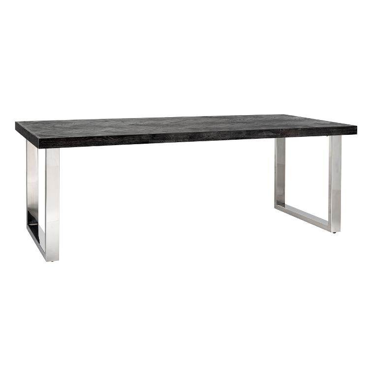 Dining table Blackbone silver 180