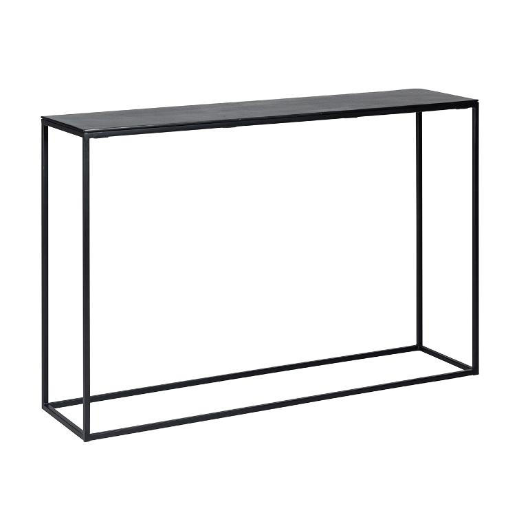 Side table Bolder aluminium black