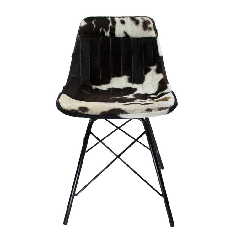 Chair Cow black white X
