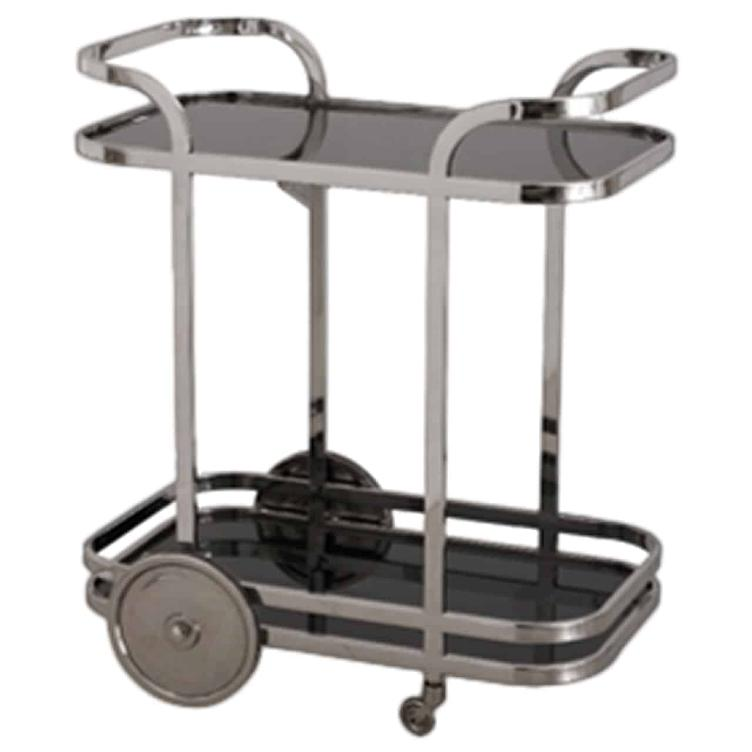 Trolley Hennesy with black glass