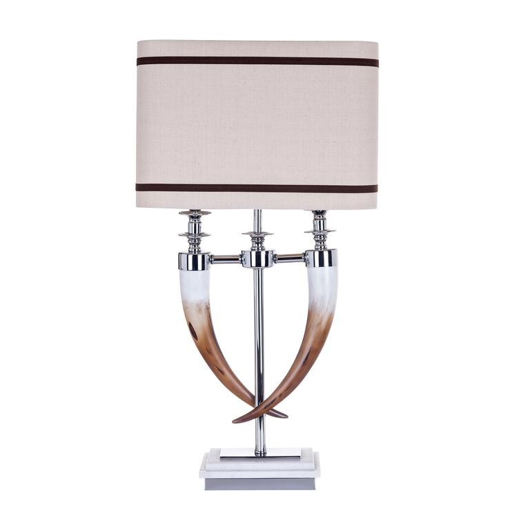 Table Lamp Ace incl. natural lampshade